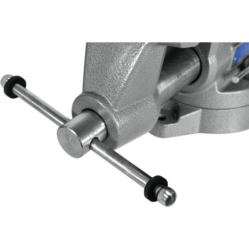 Wilton 28811 855M Mechanics Pro Vise with 5-1/2 in. Jaw Width, 5 in. Jaw Opening and 360-degrees Swivel Base image number 6