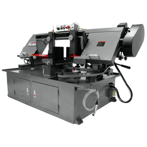 JET 413410 230V 10 in. x 18 in. Horizontal Dual Mitering Bandsaw image number 4
