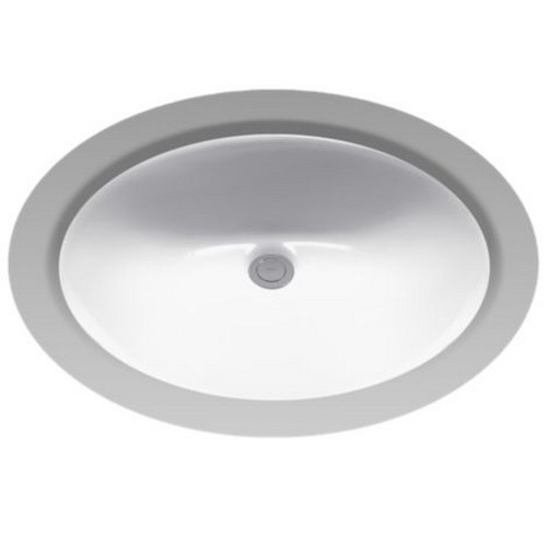 TOTO LT579G#11 Rendezvous Undermount Vitreous China 19.25 in. x 16.25 in. Round Bathroom Sink (Colonial White)