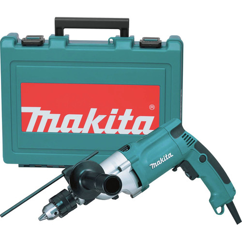 Factory Reconditioned Makita HP2050-R 6.6 Amp 3/4 in. Hammer Drill with Case image number 0