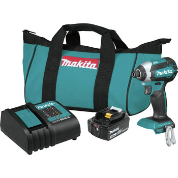 Factory Reconditioned Makita XDT131-R 18V LXT 3.0 Ah Cordless Lithium-Ion Brushless Impact Driver Kit image number 0