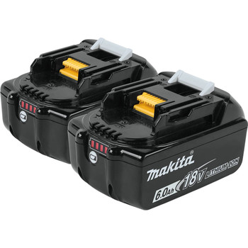 Makita BL1860B-2 18V LXT 6 Ah Lithium-Ion Battery (2-Pack)