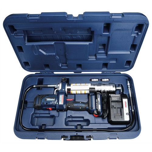 Lincoln Industrial 1886 20V 2-Speed Lithium-Ion Cordless PowerLuber Kit (2.5 Ah) image number 0