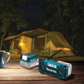 Makita RM02 12V max CXT Cordless Lithium-Ion Compact Job Site Radio (Tool Only) image number 9
