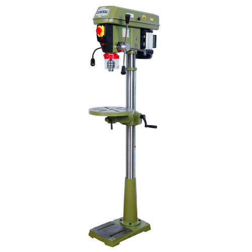 General International 75-155 M1 15 in. 1/2 HP VSD Floor Drill Press image number 0