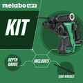Metabo HPT DH18DBLQ4M 18V Cordless Lithium-Ion Brushless SDSplus Rotary Hammer (Tool Only) image number 1
