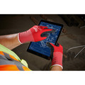 Milwaukee 48-22-8904B 12-Piece Cut Level 1 Nitrile Dipped Gloves - 2XL image number 2