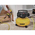 Dewalt DWFP1KIT 18 Gauge Brad Nailer and 6 Gallon Oil-Free Pancake Air Compressor Combo Kit image number 2