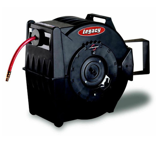 Legacy Mfg. Co. L8310 Flexzilla 100 ft. x 3/8 in. Levelwind Retractable Hose Reel image number 0