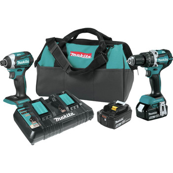 Factory Reconditioned Makita XT275PT-R 18V LXT Lithium-Ion Brushless 2-Pc. Combo Kit (5.0Ah)