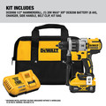 Dewalt DCD998W1 20V MAX XR Brushless Lithium-Ion 1/2 in. Cordless Hammer Drill Driver with POWER DETECT Tool Technology Kit (8 Ah) image number 1
