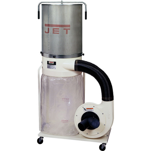JET DC-1100VX-CK Vortex 115/230V 1.5HP Single-Phase Dust Collector with 2-Micron Canister Kit image number 0