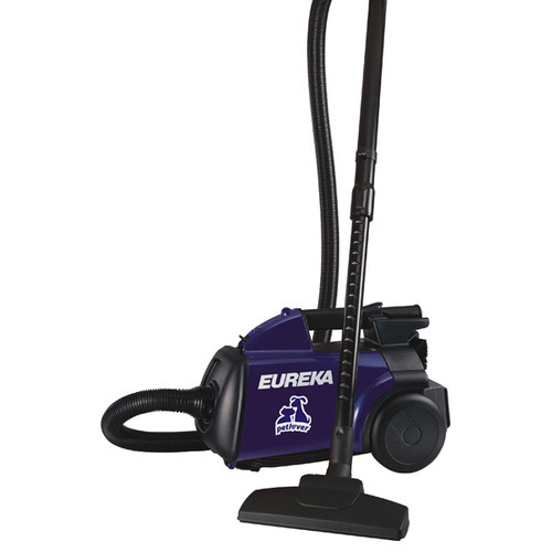 Eureka 3684F Boss Mighty Mite Pet Lover Canister Vacuum (Purple)