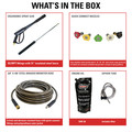 Simpson 95003 Trailer 4200 PSI 4.0 GPM Cold Water Mobile Washing System Powered HONDA image number 1