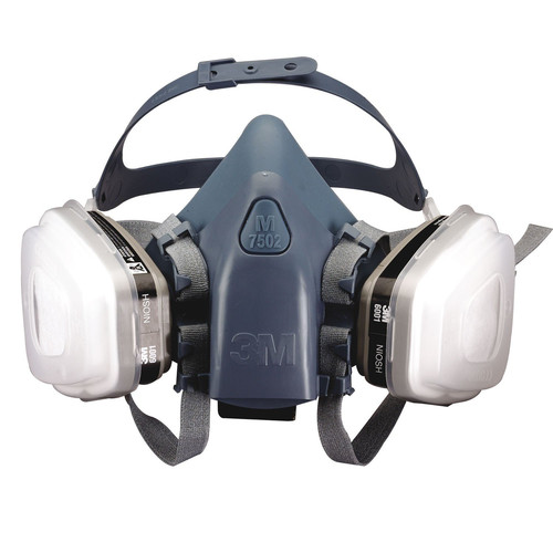 3M 37079 Professional Series Half Shield Respirator (Large)