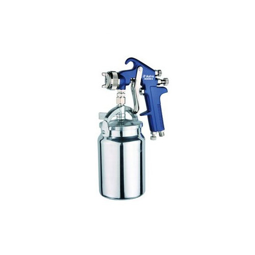 Astro Pneumatic 4008 High Performance Spray Gun 1.8mm Nozzle, Blue with 1000cc Cup image number 0