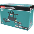 Makita BL1840BDC2 18V LXT Lithium-Ion Battery and Rapid Optimum Charger Starter Pack (4 Ah) image number 6