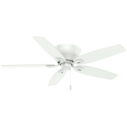 Casablanca 54103 Durant 54 in. Transitional Snow White Plywood Indoor Ceiling Fan image number 0