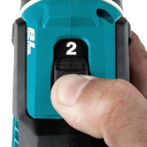 Makita XFD131 18V LXT Lithium-Ion Brushless Compact 1/2 in. Cordless Drill Driver Kit (3 Ah) image number 5
