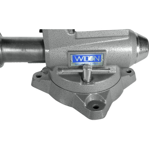 Wilton 28811 855M Mechanics Pro Vise with 5-1/2 in. Jaw Width, 5 in. Jaw Opening and 360-degrees Swivel Base image number 8