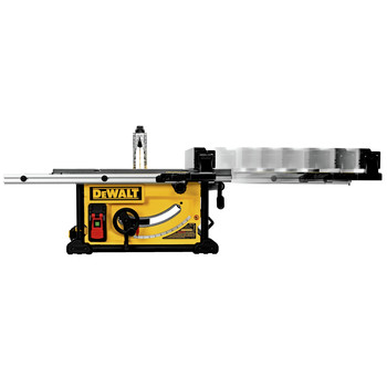 Dewalt DWE7491RS 10 in. 15 Amp  Site-Pro Compact Jobsite Table Saw with Rolling Stand image number 7