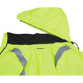 Makita DCJ206ZL 18V LXT Lithium-Ion Cordless High Visibility Heated Jacket (Jacket Only) - Large image number 2