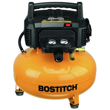 Bostitch BTFP02012 6 Gallon Oil-Free Pancake Air Compressor