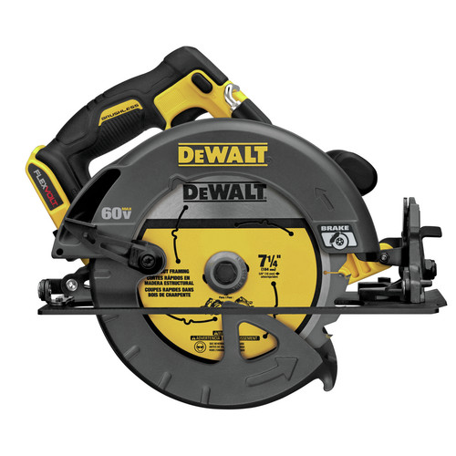 Dewalt DCS575B FlexVolt 60V MAX Cordless Lithium-Ion 7-1/4 in. Circular Saw (Tool Only) image number 0