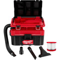Milwaukee 0970-20 M18 FUEL PACKOUT Lithium-Ion Brushless 2.5 Gallon Cordless Wet/Dry Vacuum (Tool Only) image number 0