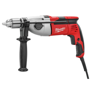 Factory Reconditioned Milwaukee 5380-81 9 Amp 1/2 in. Corded Heavy-Duty Hammer Drill with Case