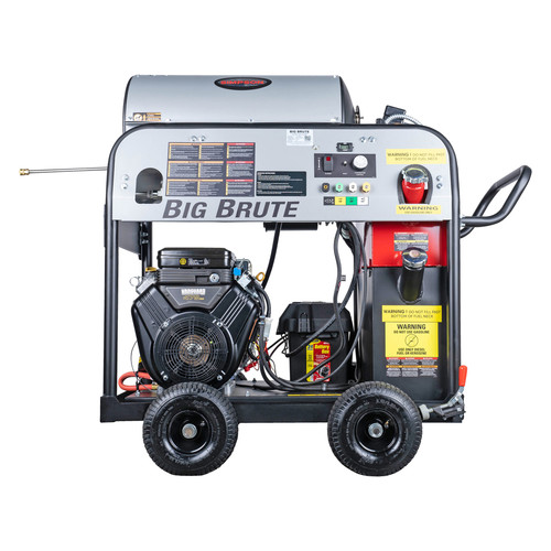 Simpson 65105 Big Brute 4000 PSI 4.0 GPM Hot Water Pressure Washer Powered by VANGUARD image number 0