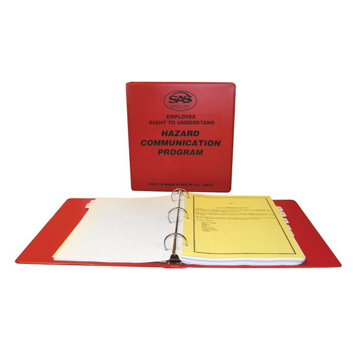 SAS Safety 6000-50 Hazard Communication Program Kit