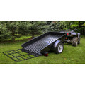 Detail K2 MMT4X6 4 ft. x 6 ft. Multi Purpose Utility Trailer Kits (Black powder-coated) image number 6