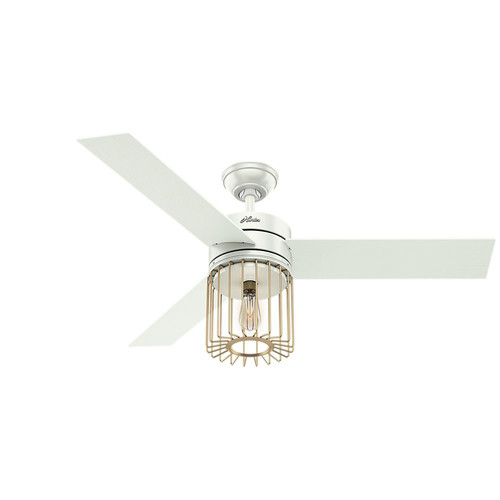 Hunter 59238 52 in. Ronan White Ceiling Fan image number 0