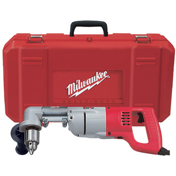 Factory Reconditioned Milwaukee 3107-8 7 Amp 1/2 in. Corded Right Angle Drill with D-Handle and Case