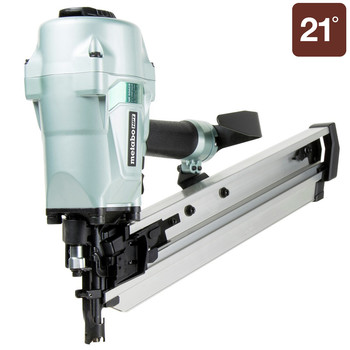 Metabo HPT NR90AC5M 2-3/8 in. to 3-1/2 in. Plastic Collated Framing Nailer
