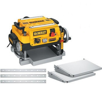 Dewalt DW735X 13 in.  Two-Speed Thickness Planer with Support Tables and Extra Knives