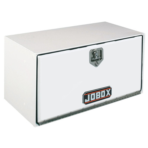 Delta 1-009000 72 in. Long Heavy-Gauge Steel Underbed Truck Box (White)