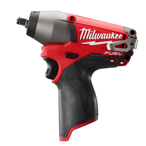 Factory Reconditioned Milwaukee 2454-80 M12 FUEL 12V Cordless Lithium-Ion 3/8 in. Impact Wrench (Bare Tool)