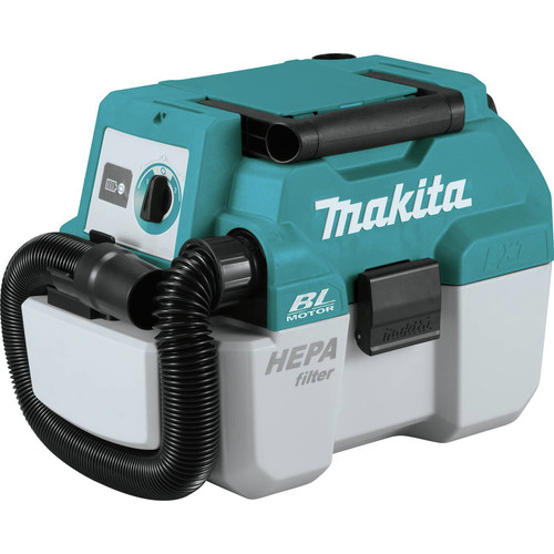 Makita XCV11Z 18V LXT Lithium-Ion Brushless 2 Gallon HEPA Filter Portable Wet/Dry Dust Extractor/Vacuum (Tool Only) image number 0