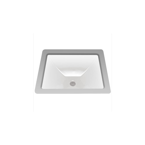 TOTO LT624G#01 Legato Undermount Vitreous China 19 in. x 17 in. Rectangular Bathroom Sink (Cotton White)