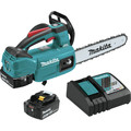 Makita XCU06T 18V LXT Lithium-Ion Brushless Cordless 10 in. Top Handle Chain Saw Kit (5.0Ah) image number 0
