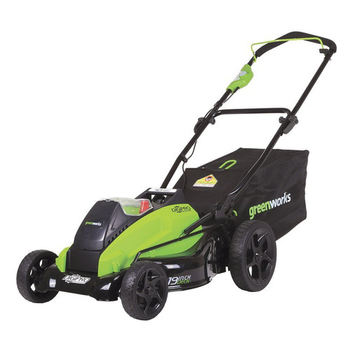 Greenworks 2500502 40V G-Max 4.0 Ah Lithium-Ion 19 in. DigiPro Lawn Mower image number 0