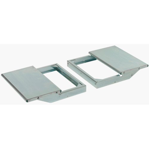 JET 98-1601 10 in. x 16 in. Infeed/Out Sanding Support Tables for 16-32 Drum Sander