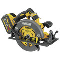 Dewalt DCS578X1 FLEXVOLT 60V MAX Brushless Lithium-Ion 7-1/4 in. Cordless Circular Saw Kit with Brake and (1) 9 Ah Battery image number 1