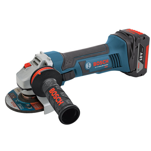 Bosch GWS18V-45 18V Cordless Lithium-Ion 4-1/2 in. Angle Grinder (Tool Only) image number 0