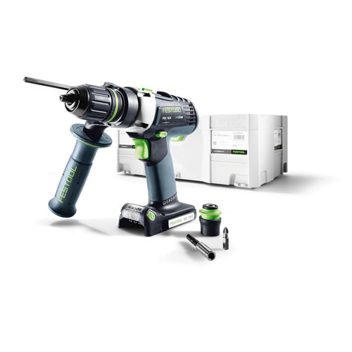Festool PDC 18/4 QUADRIVE 18V 5.2 Ah Cordless Lithium-Ion 1/2 in. Hammer Drill (Bare Tool)