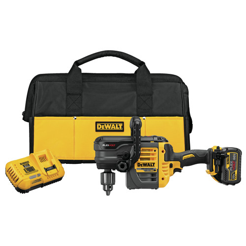 Dewalt DCD460T1 FlexVolt 60V MAX Lithium-Ion Variable Speed 1/2 in. Cordless Stud and Joist Drill Kit with (1) 6 Ah Battery image number 0