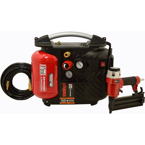 Fini AB1PAK 2 in. 18-Gauge Brad Nailer & Compressor Combo Kit