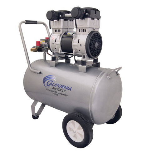 California Air Tools 15020C 2 HP 15 Gallon Ultra Quiet Steel Tank Air Compressor (Bare Tool)